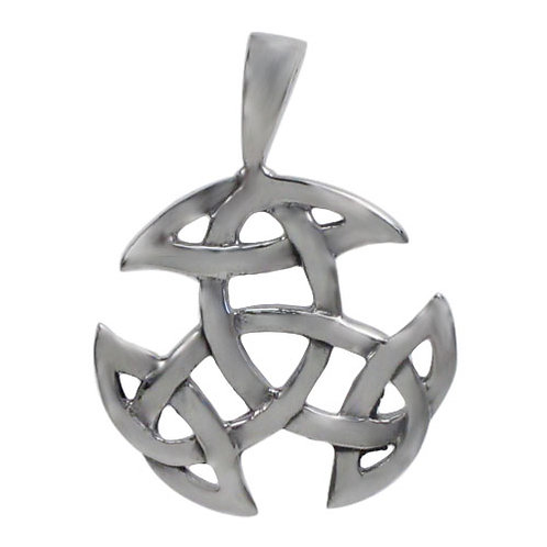 Sterling Silver Galway Knot Pendant