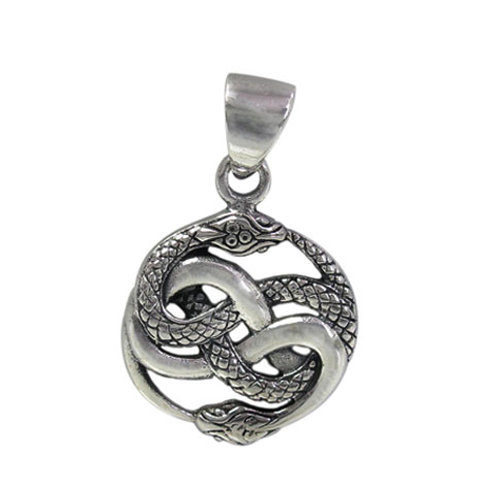 Sterling Silver Ouroboros Pendant