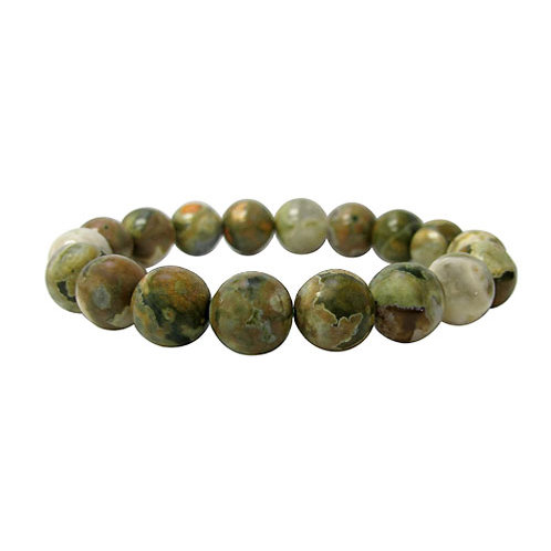 Rainforest Jasper 8mm Elastic Bracelet