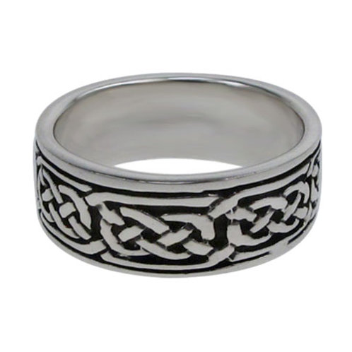 Sterling Silver Celtic Eternity Knot Ring