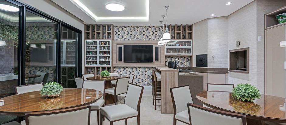 5 ambientes de confraternização para ter em casa