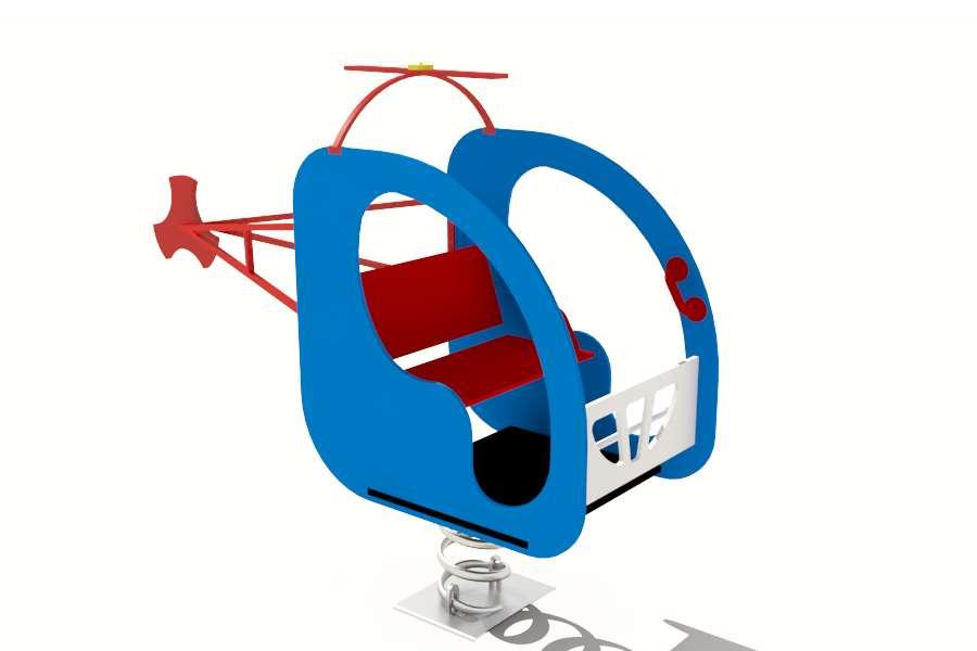 вертолет качалка