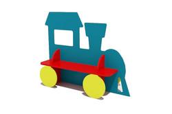 паровоз-скамейка