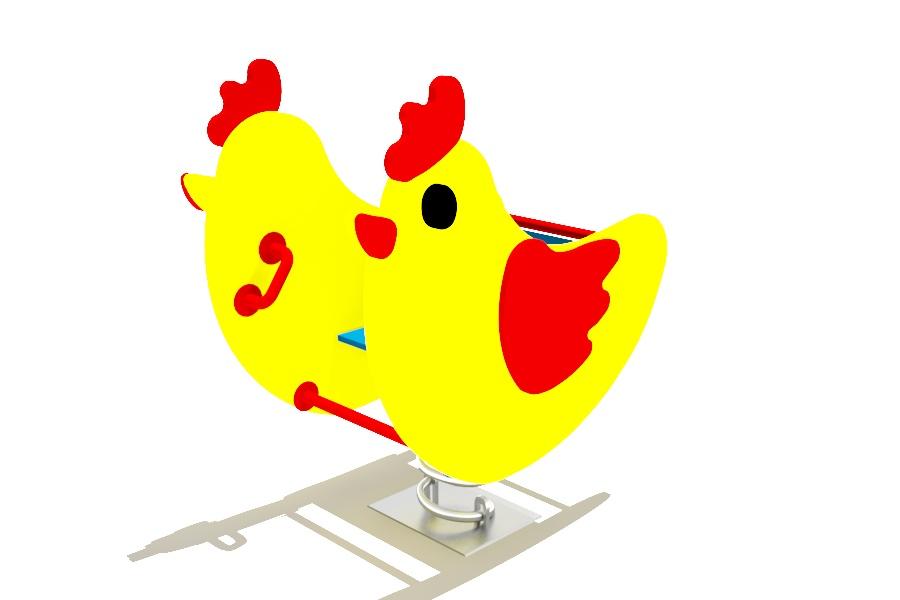 качалка цыпленок