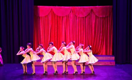 "Guys & Dolls - Hotbox Girls ""Bushel and a Peck"" Costumes"