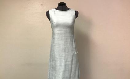 Light Blue Sheath Dress
