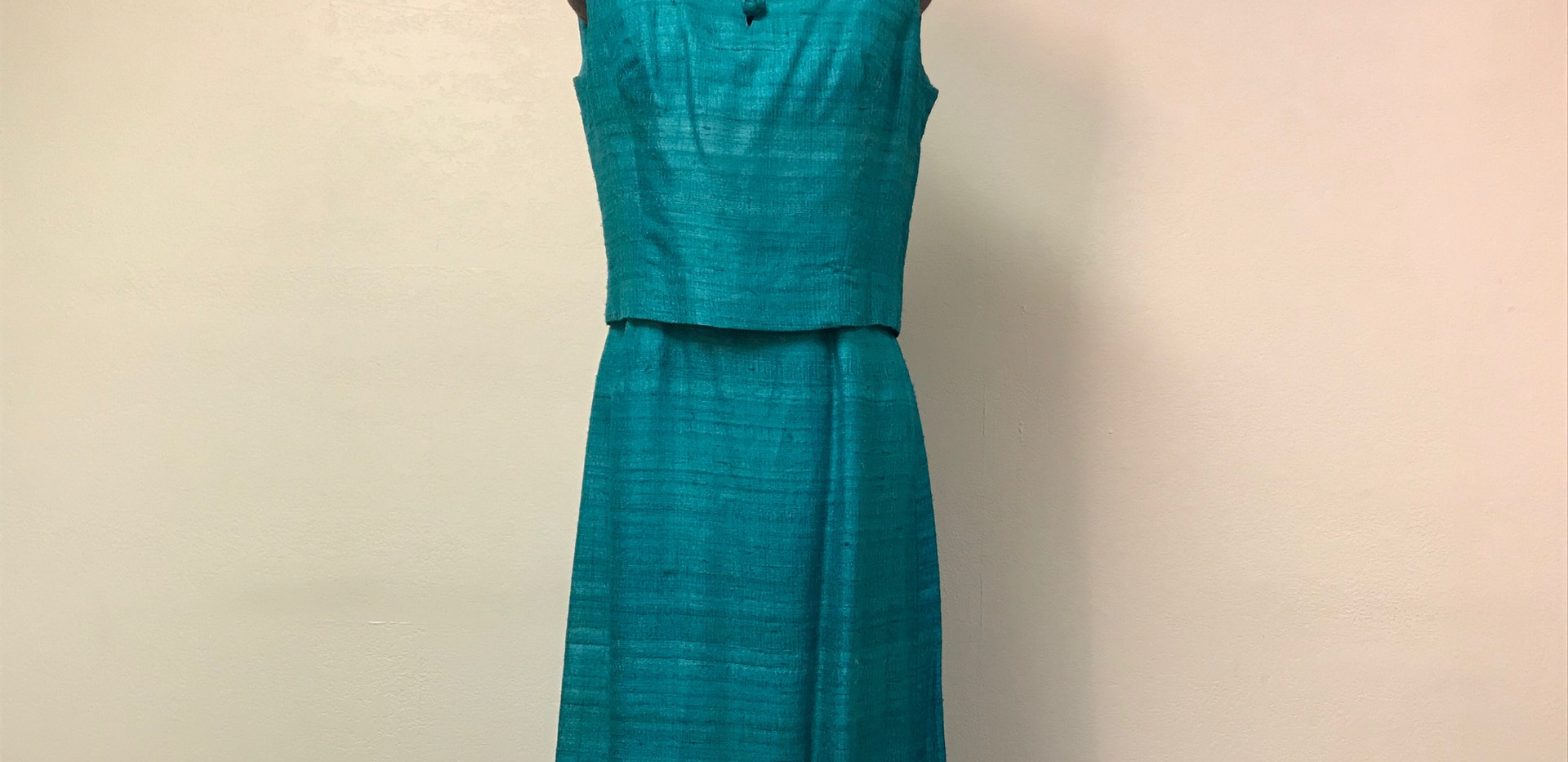 Aqua Two Piece Dress