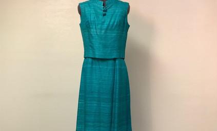 Aqua Two Piece Dress