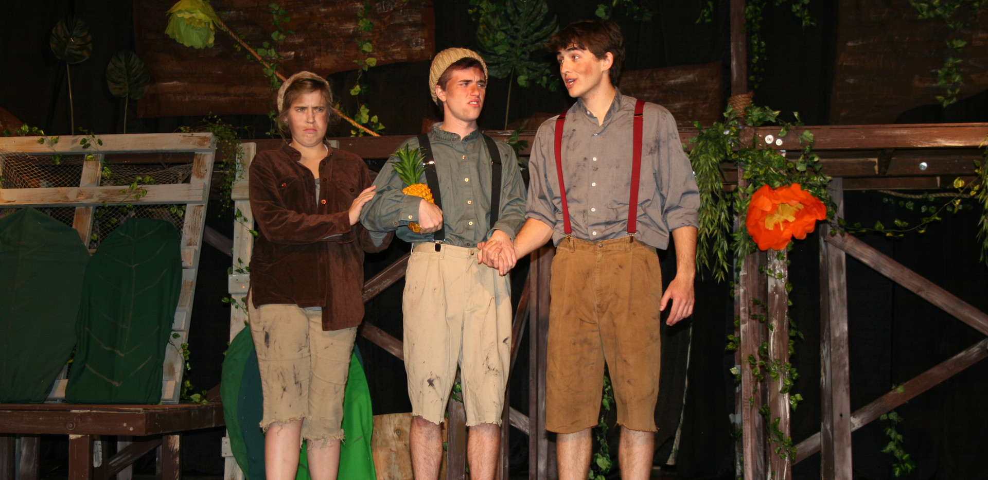 Peter and the Starcatcher - Prentiss, Ted, and Peter
