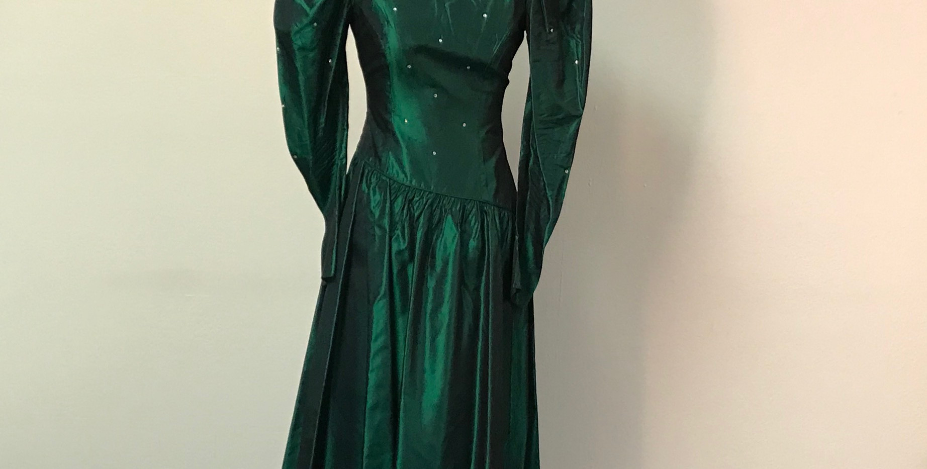 Green pParty Dress