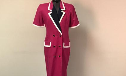 Pink Suit Dress