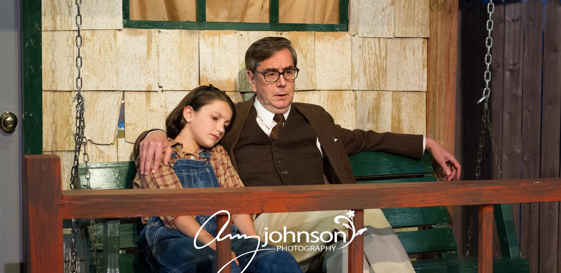 To Kill a Mockingbird - Scout and Atticus