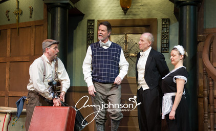 Something's Afoot - Flint, Dr. Grayburn, Clive, and Lettie