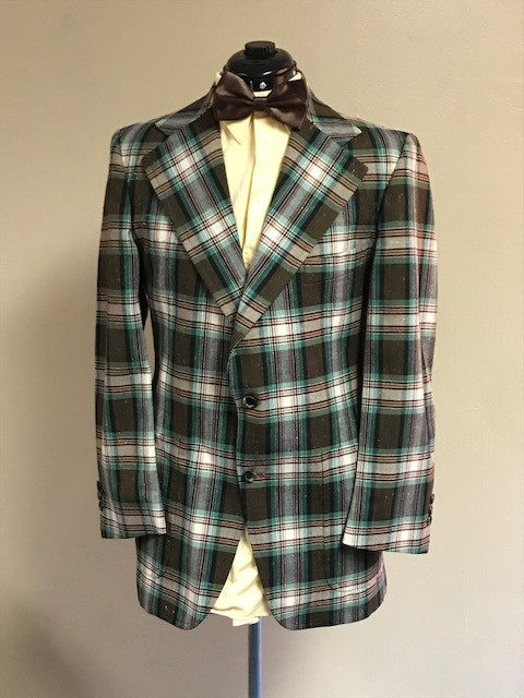 Plaid Suit Jacket