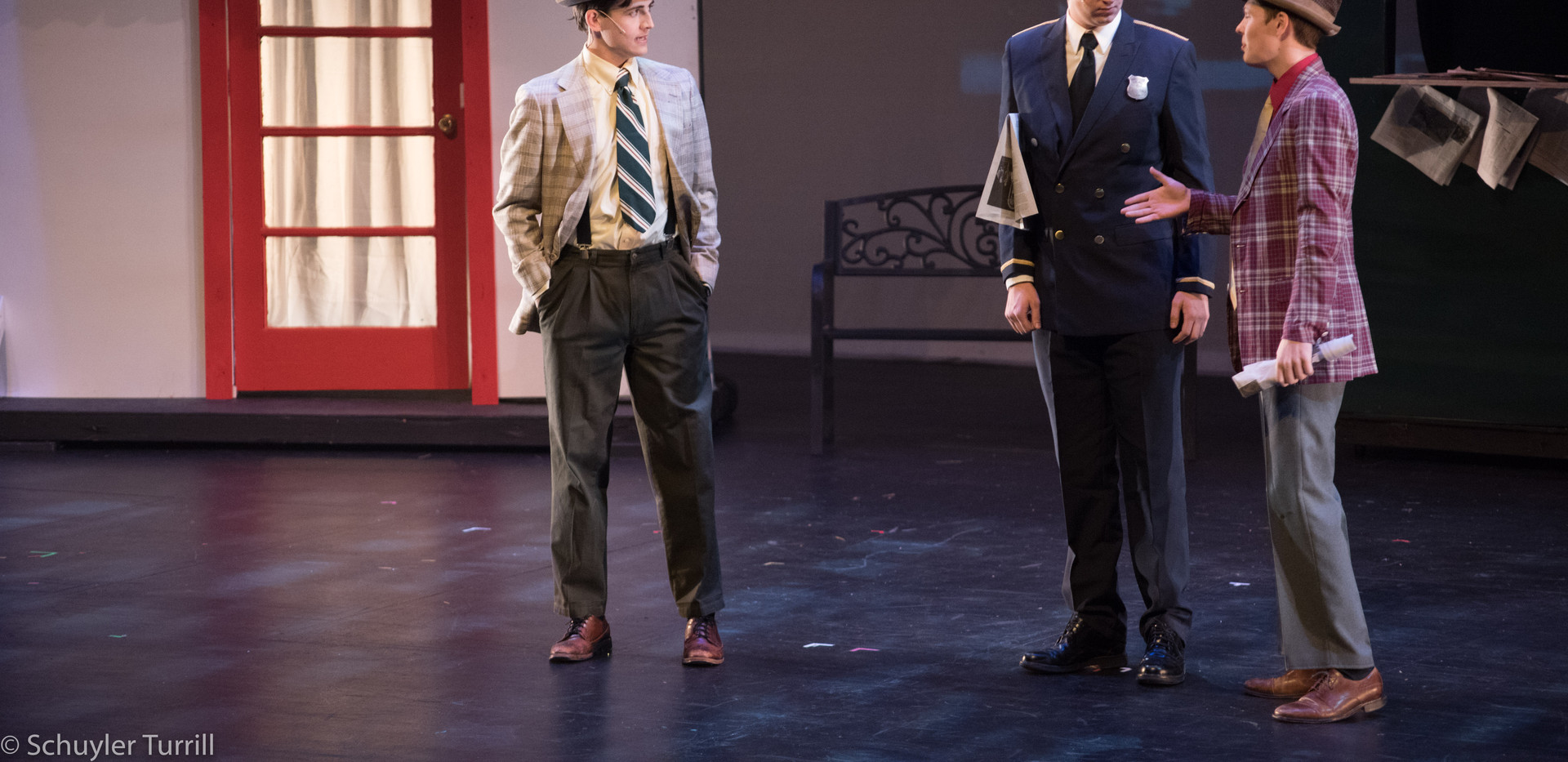 Guys & Dolls - Gamblers and Police Captain