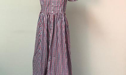 Patriotic Calico Dress