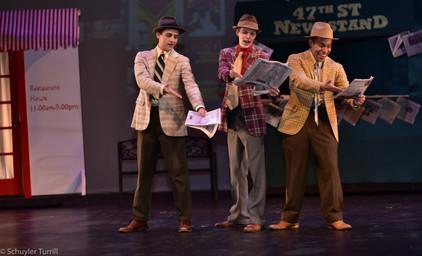 Guys & Dolls - Gambler Trio