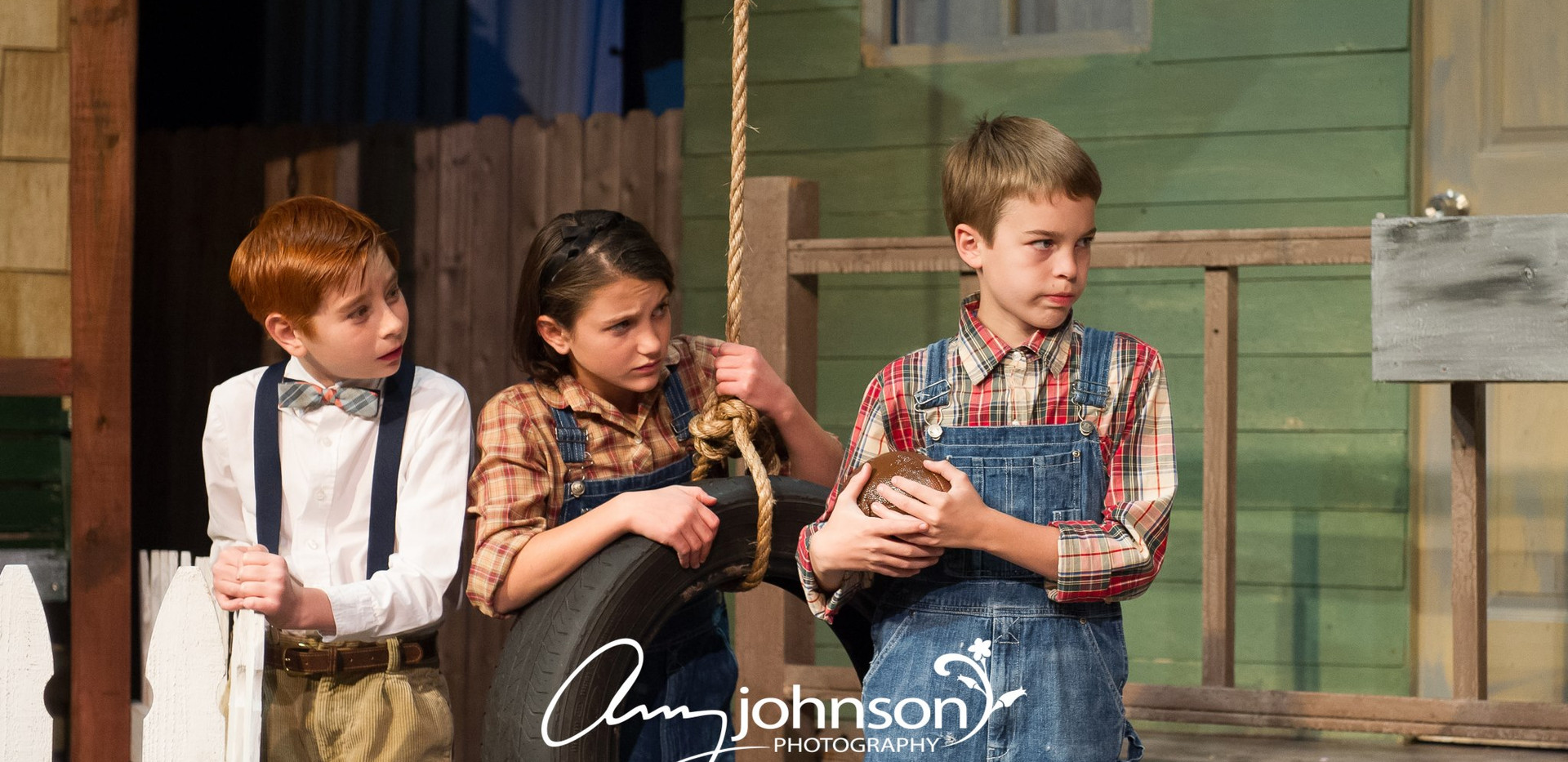 To Kill a Mockingbird - Scout, Jem, and Dill