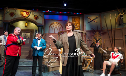 Something's Afoot - Miss Tweed and Cast