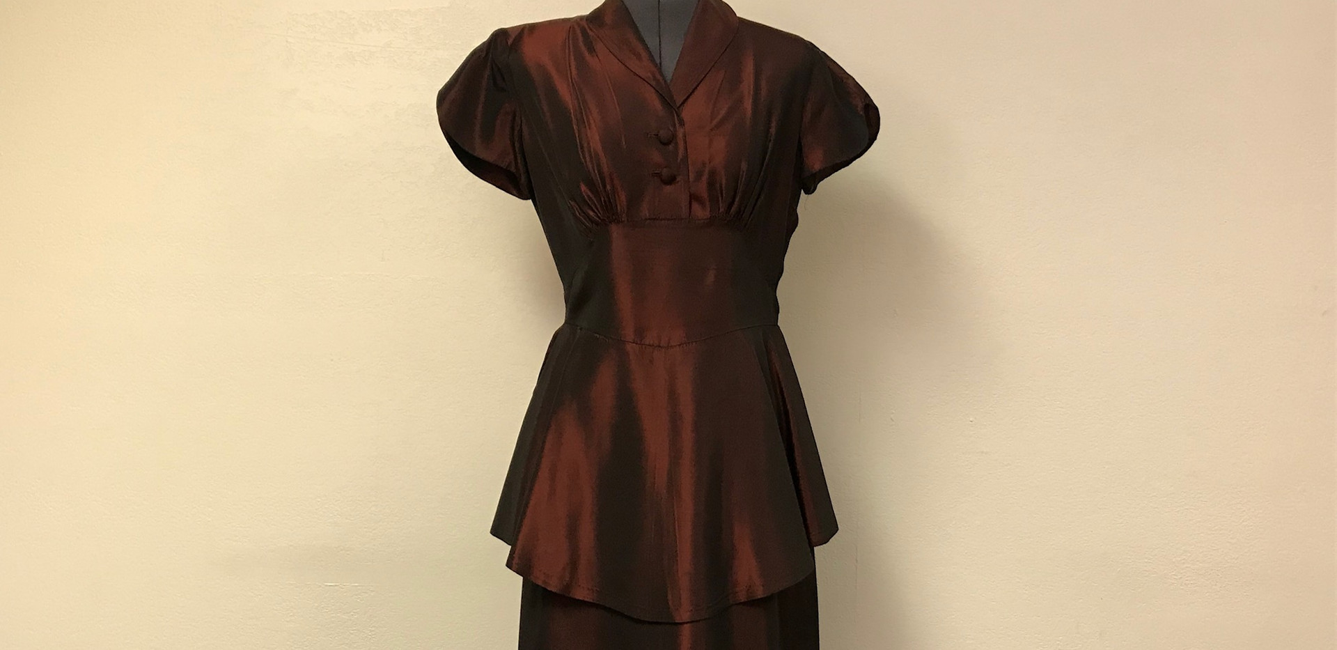 Rust Colored Dress