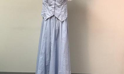 Late 1800's Blue Dress