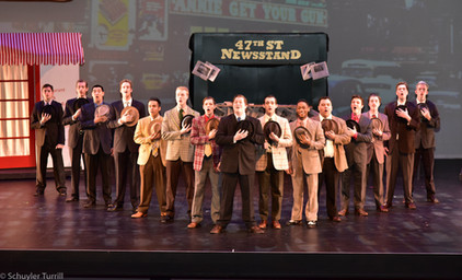 Guys & Dolls - Male Leads and Ensemble