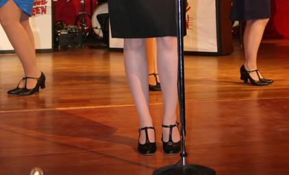 Swingtime Canteen - Fancy Black Dress