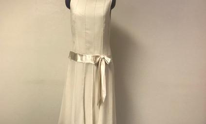 Cream 1920's Day Dress