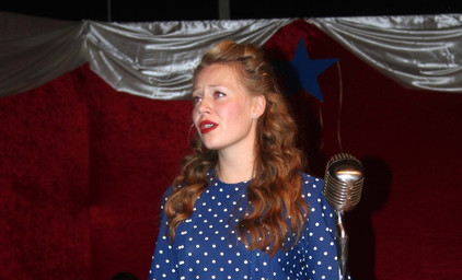 Swingtime Canteen - Casual 1940's Dress