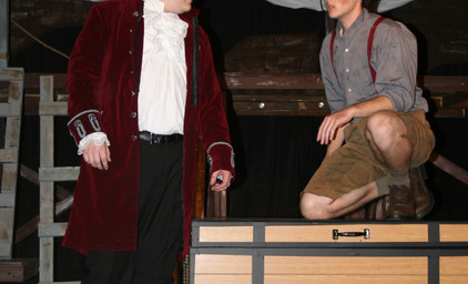 Peter and the Starcatcher - Captain Black Stache and Peter