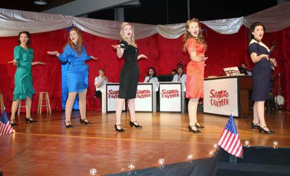 Swingtime Canteen - Full Cast