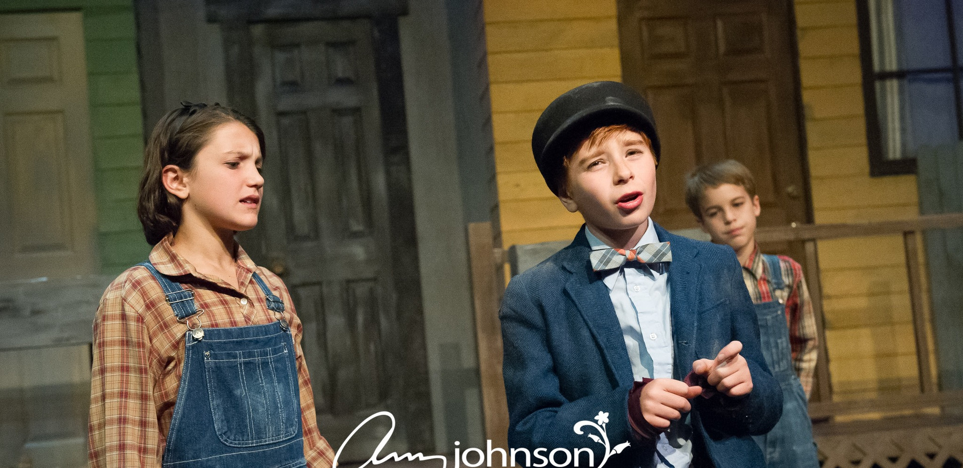 To Kill a Mockingbird -Scout, Jem, and Dill