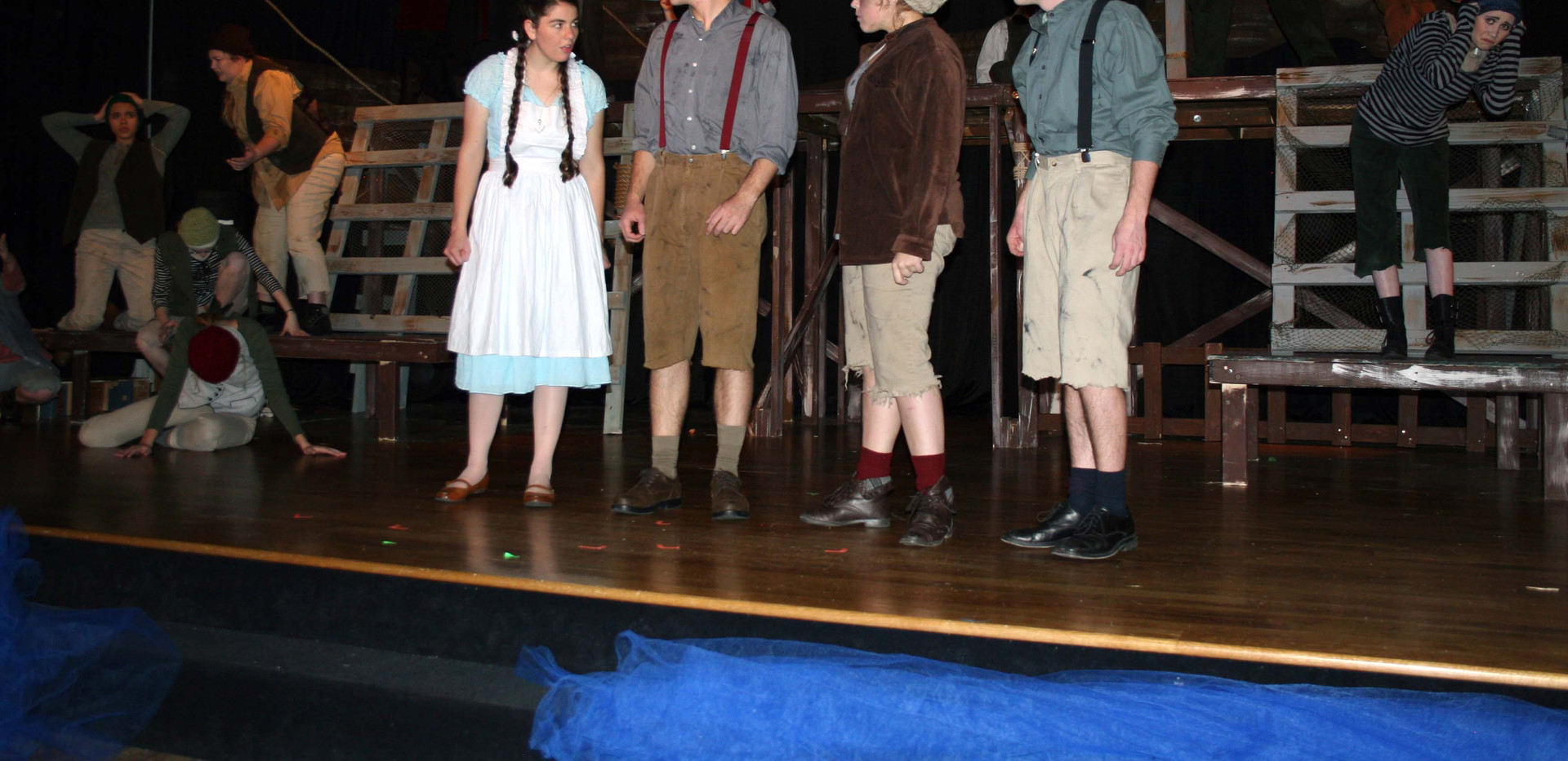 Peter and the Starcatcher - Molly, Peter, Ted and Prentiss