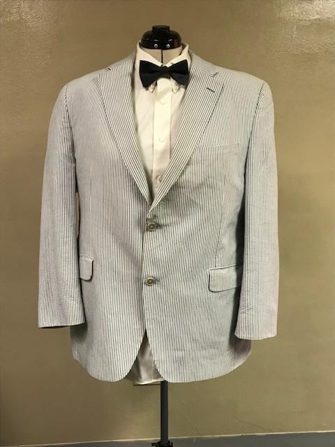 Seersucker Suit Jacket