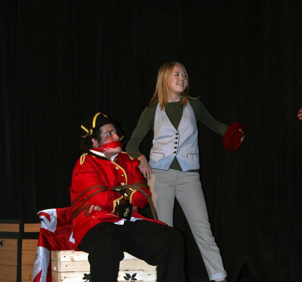Peter and the Starcatcher - Smee and British Captain
