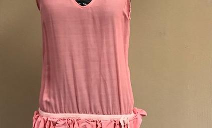Pink Ruffled 1920's Dress
