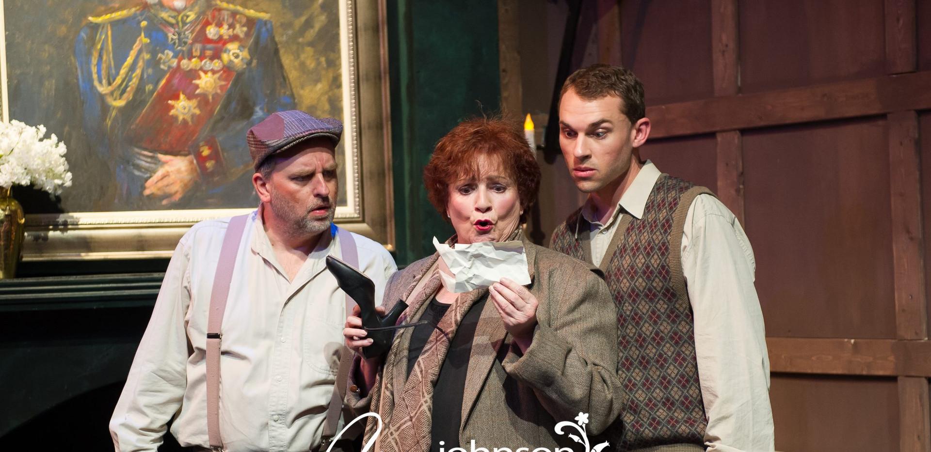 Something's Afoot - Flint, Miss Tweed and Geoffrey