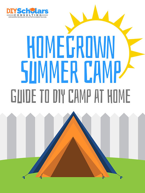 Homegrown Summer Camp: Guide to DIY Camp @ Home