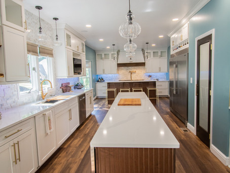 A kitchen renovation for the home chef