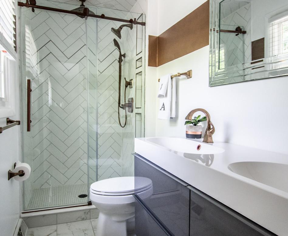 Bathroom Remodel by American Dreamers Renovations