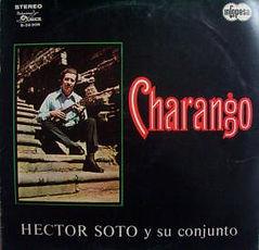 Primer disco de charango de Héctor Soto