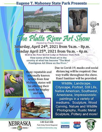 2021 The Platte River Art Show Flyer-pag