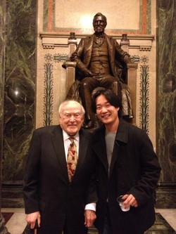 Hanjin Sa with Maestro Page