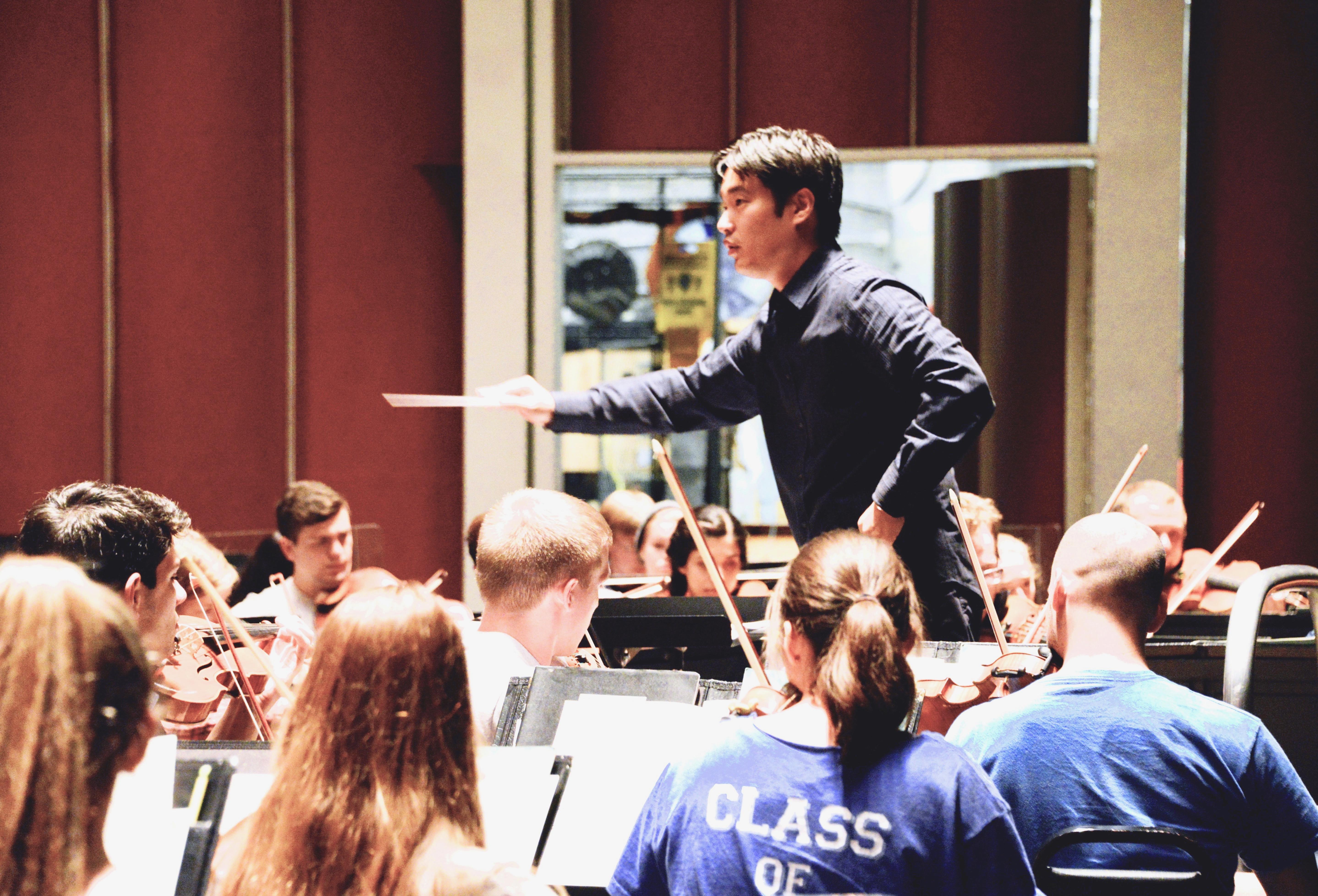 Hanjin Sa Orchestra conducting