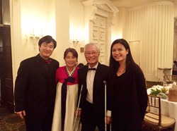 With Chairman of Korean Pitts Phil