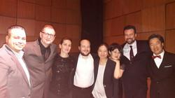 with friends from AmerKlavier studio