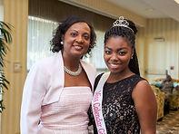 Soror Twila and Miss Calendar Girl 2013