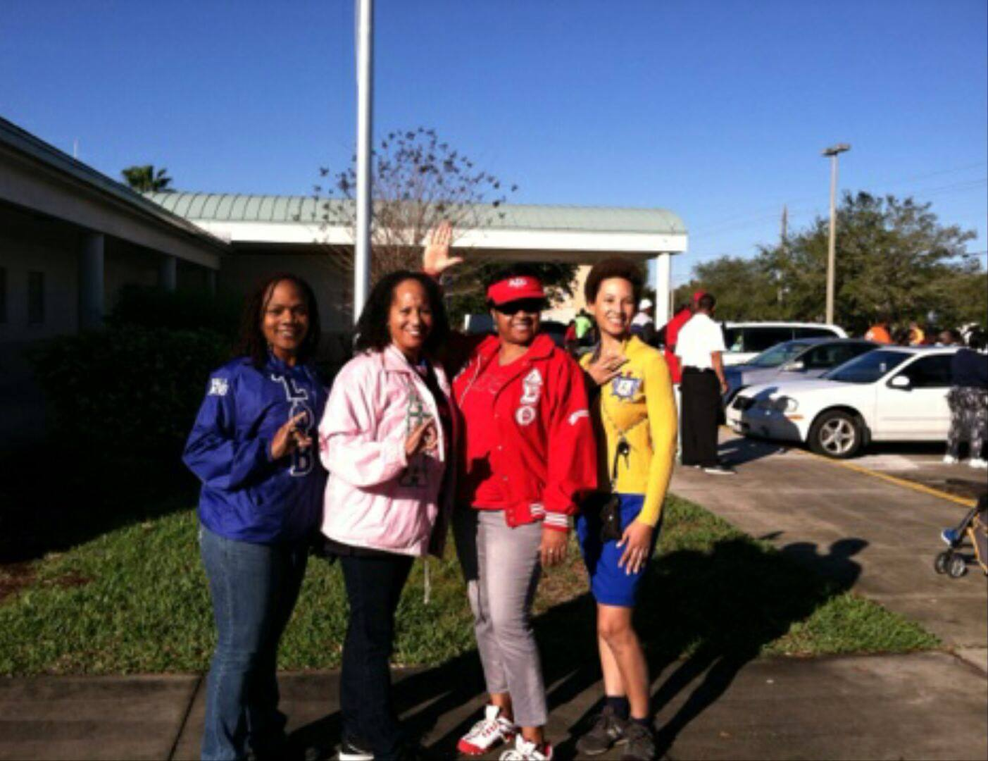 Soror Donna participating in Melbourne MLK Day event.jpg
