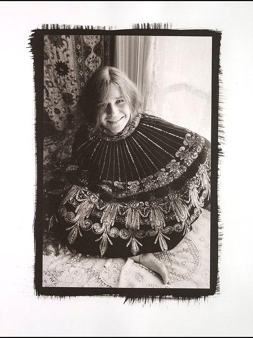 Platinum Print - Janis Joplin