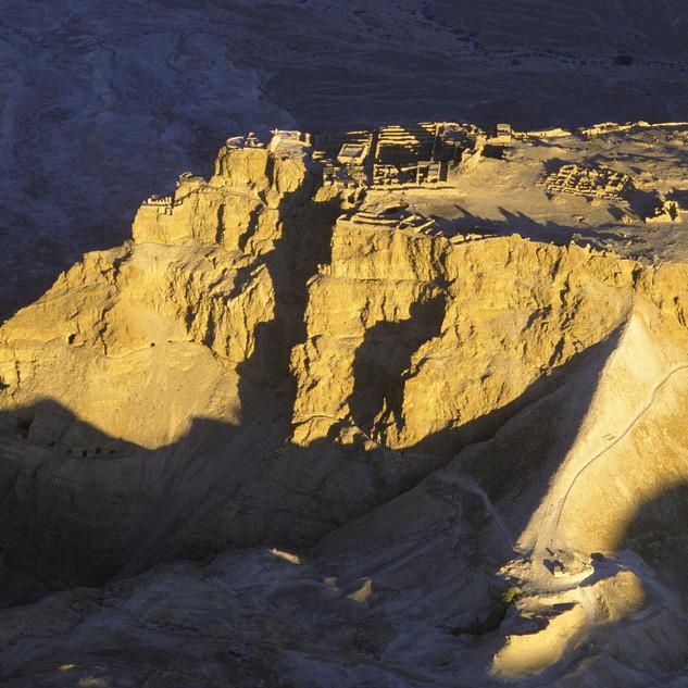 Israel - Masada at Sunset